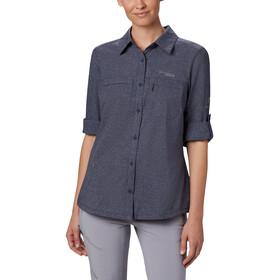 Columbia Irico Camisa Manga Larga Mujer, azul